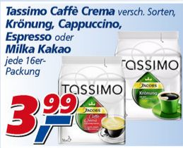 tassimo sorten bei real f r 3 99 euro der. Black Bedroom Furniture Sets. Home Design Ideas