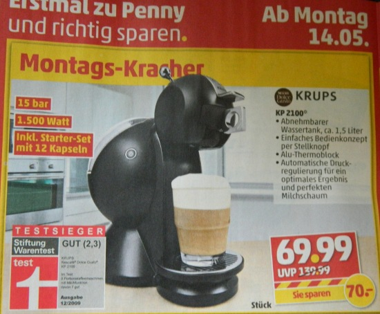 dolce gusto penny