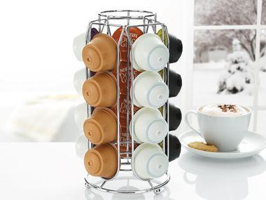 kapselspender f r 5 99 euro bei lidl nespresso tassimo. Black Bedroom Furniture Sets. Home Design Ideas