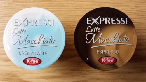 Latte Macchiato Kapseln von Expressi
