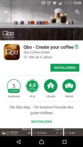Qbo App im App-Store