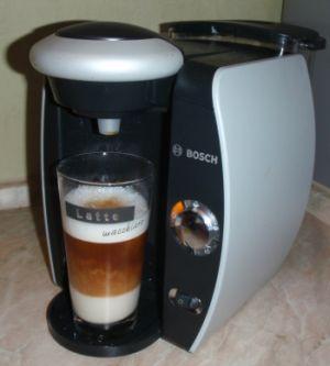 Latte Macchiato aus der Kapselmaschine Tassimo T42